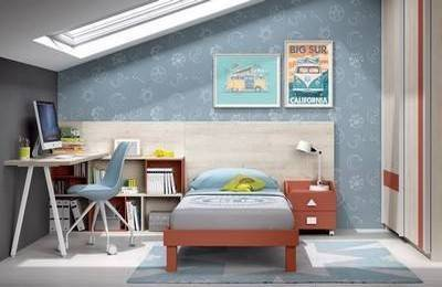 Literas juveniles muebles mesquemobles - Muebles infantiles para habitaciones pequenas ...