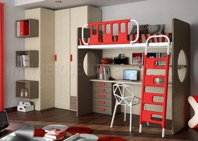 Habitaciones dormitorios juveniles - Habitaciones juveniles literas ...