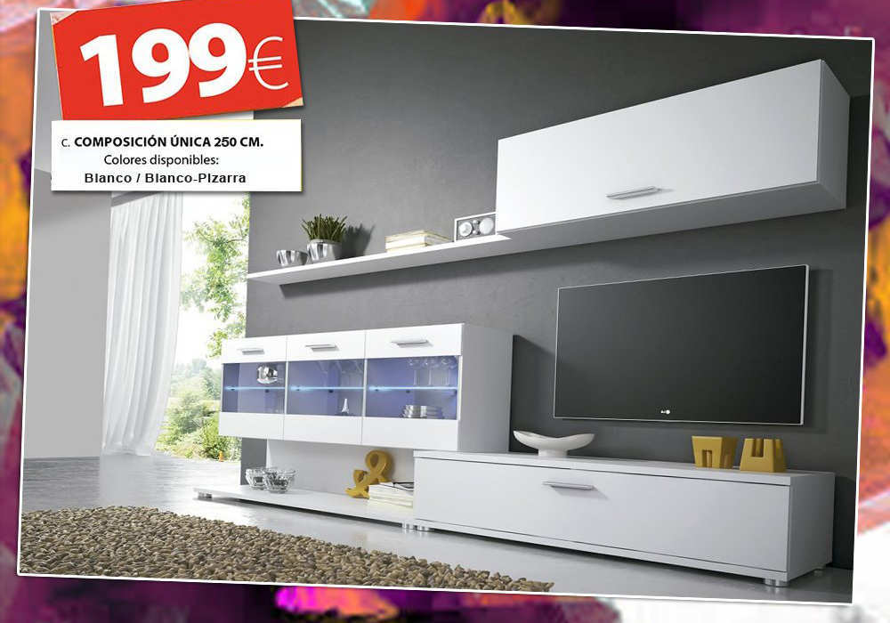 OUTLET MUEBLES Y SOFAS